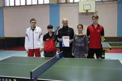 Перемога збірної команди університету з настільного тенісу